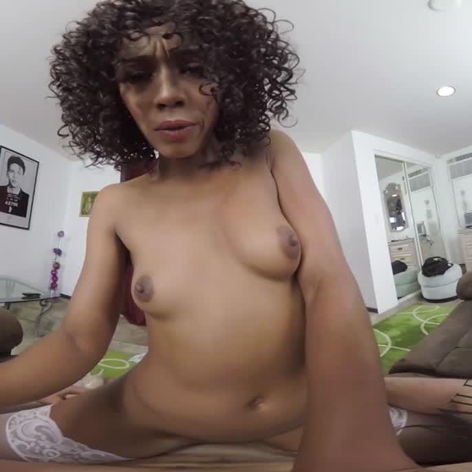 Chocolate VR MILF Gets Fucked Hard