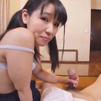 Getting your cock sucked by a Japanese schoolgirl
