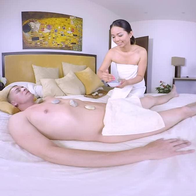 Thai Masseuse Gets You Off