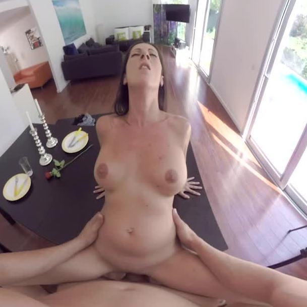 Sexy Brunette Gets Pounded
