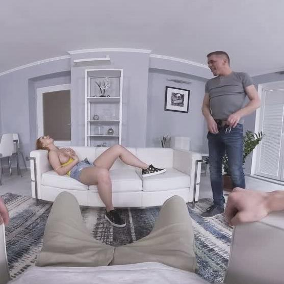 Threeway With Stepdaughter And Boyfriend