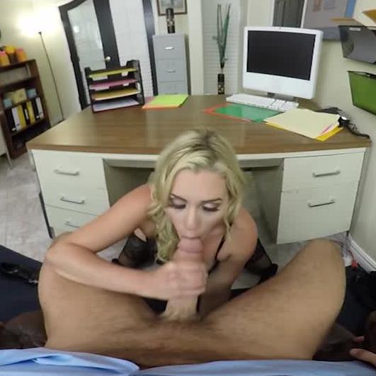 Naughty Office VR Blowjob