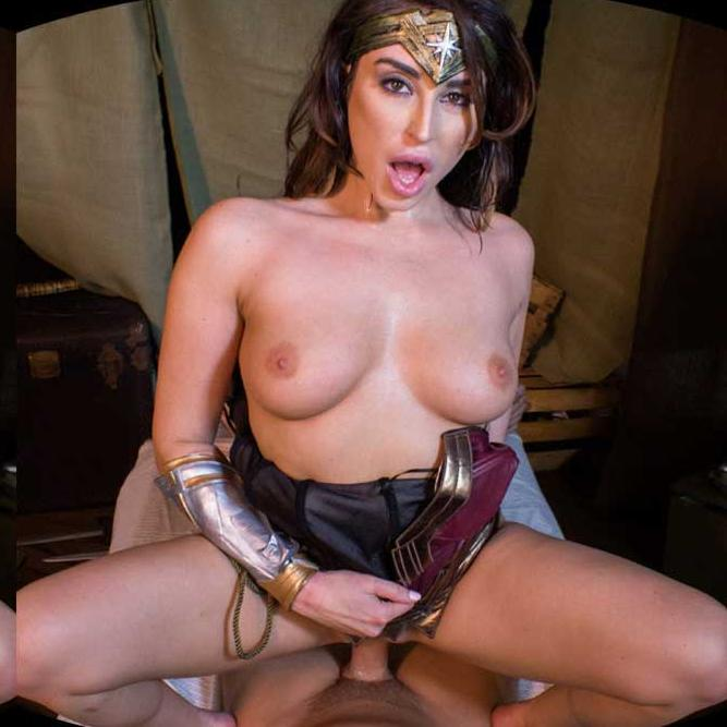 Wonder Woman VR Porn Rides Again