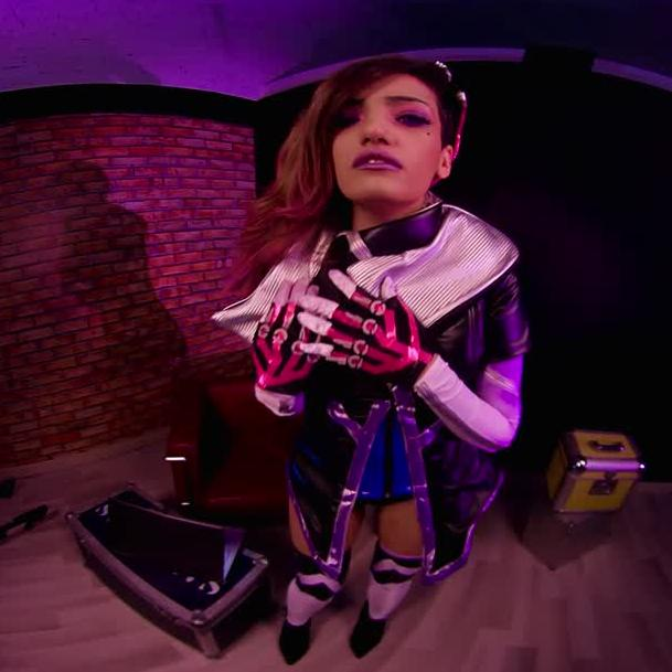 Fuck Sombra In This Overwatch Cosplay VR Porn