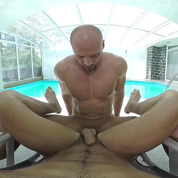 Gay VR Porn in the Pool